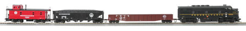 MTH 81-4002-1 Pennsylvania HO Scale F-3 Diesel R-T-R Deluxe Freight Train Set With PS 3.0