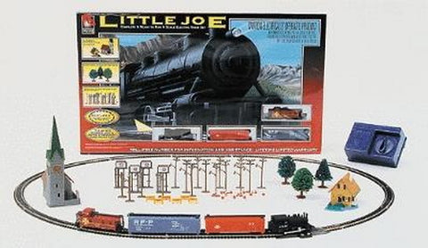 Life Like 7549 N Santa Fe 0-6-0 Little Joe Electric Train Set