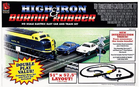 Life Like 9142 HO High Iron & Burnin' Rubber Set
