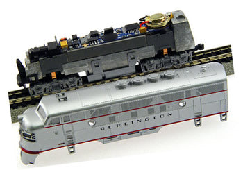MRC 1957 N Platinum Series DCC Sound & Control Decoder For Kato EMD F Unit
