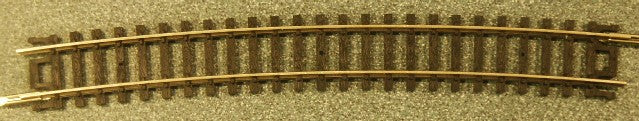 "Atlas 2516 N Scale Code 80 Snap Track 19"" Radius Curve Track Section (3)"