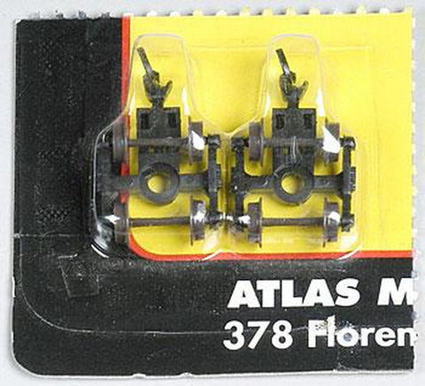 Atlas 22076 N Scale 40T Friction Bearing Trucks (2)