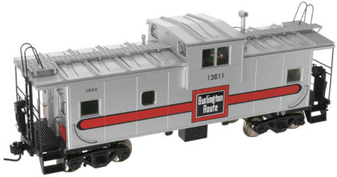 Atlas 7695 O Scale CB&Q Caboose (2 Rail)