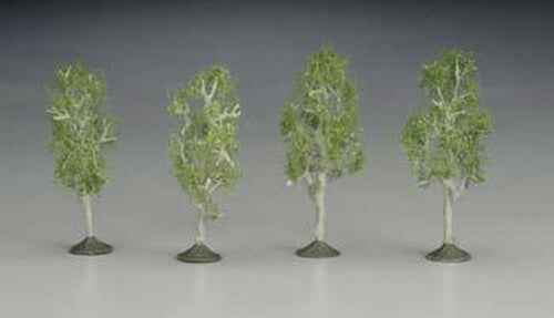 "Bachmann 32110 N 2 1/2""-2 3/4"" Aspen Trees (Pack of 4)"