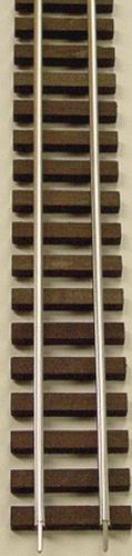 "Gargraves 402 S Gauge Stainless 37"" Wood Tie Flex Track"