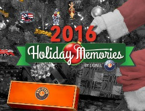 Lionel 8-83806 2016 Holiday Memories Catalog