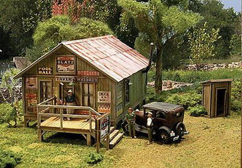 Blair Line 2003 HO Sam's Roadhouse Kit