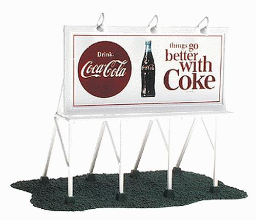Coca-Cola 8261 HO Things Go Better with Coke Billboard