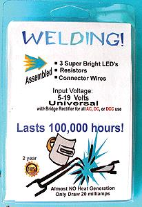 Evan Designs U5W Welding Pack LED 5mm