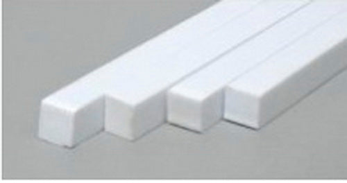"Evergreen Scale Models 390 .125"" x .312"" x 24"" Polystyrene Strips (Pack of 6)"