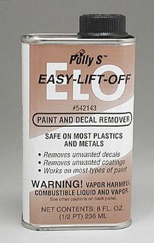 Floquil 542143 ELO Paint Remover 8-oz