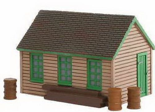 Imex 6339 N Scale Maintenance Handcart Shed