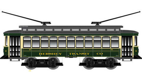 Industrial Rail 1009104 Hershey Trolley Set