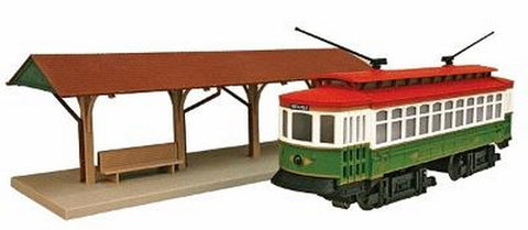 Industrial Rail 1009109 Holiday Trolley Set