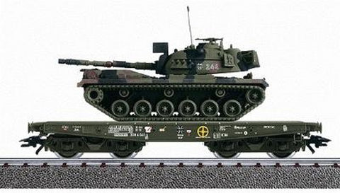 Marklin 48721 4MFOR Flat with M 48 G Tank