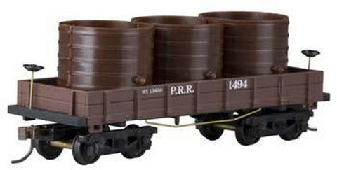 Mantua 723020 HO RTR OT WOOD WATER CAR, PRR