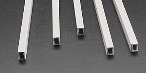 "Plastruct 90223 1/4"" x 3/8"" x 15"" ABS Rectangular Tubing (Pack of 5)"