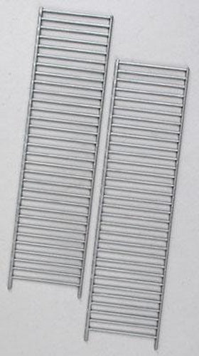 "Plastruct 90498 3/16"" x 6-1/4"" x 1-39/64"" Vertical Railing (Pack of 2)"