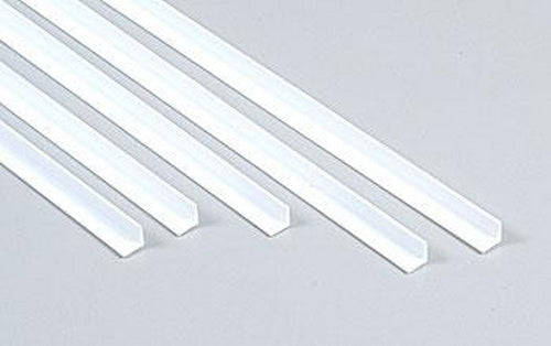 "Plastruct 90505 3/16"" x 24"" x 3/16"" Styrene Angle (Pack of 5)"