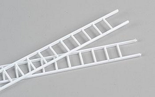 "Plastruct 90674 1:32 39/64"" x 15"" x 3/8"" Styrene Straight Ladders (Pack of 2)"