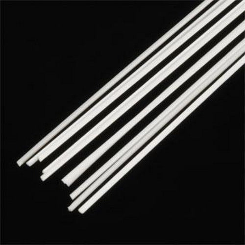 "Plastruct 90841 0.030"" x 10"" x 0.030"" Triangular Styrene Rod (Pack of 10)"