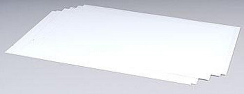 "Plastruct 91101 7"" x .010"" x 12"" Styrene Plastic Sheet (Pack of 8)"