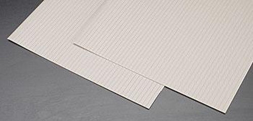 "Plastruct 91532 12"" x 5/32"" x 7"" Wood Planking Sheet (Pack of 2)"