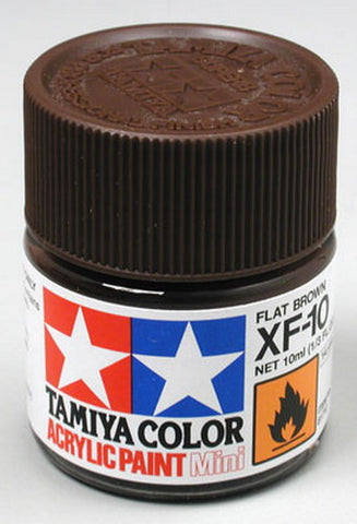 Tamiya 81710 XF-10 MINI FLAT BROWN