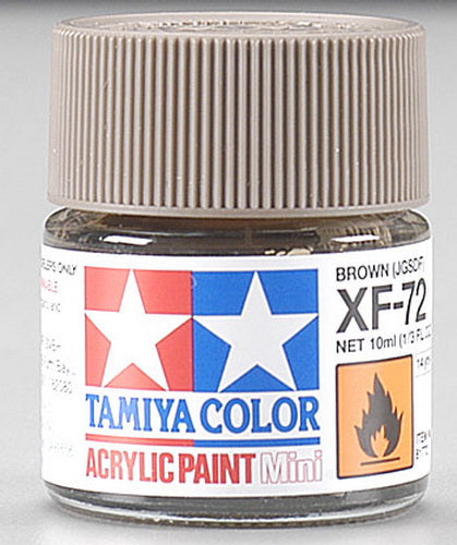 Tamiya 81772 MINI XF-72 BROWN