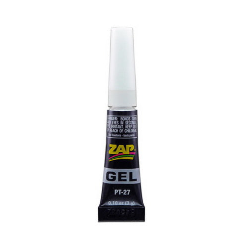 Pacer Glue PT27 Zap-GEL .1 oz. Quick Set Non-Sag Super Glue