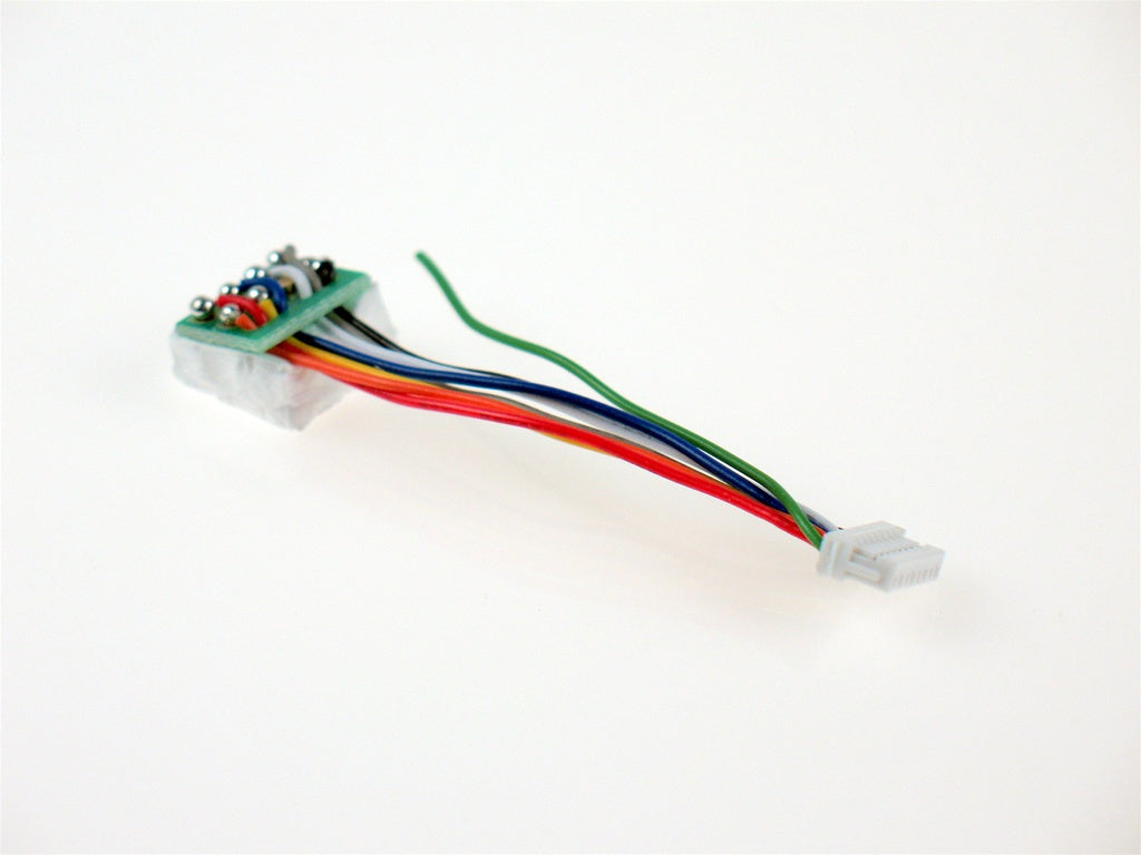 "Digitrax DNWHPS N DCC Decoder Wire Harness, 1.2"" 8-Pin"