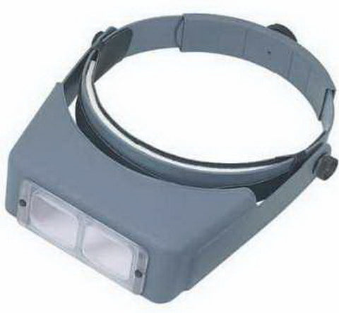 Donegan Optical Company LX7 OptiVisor with Lens 2 3/4 x 6""