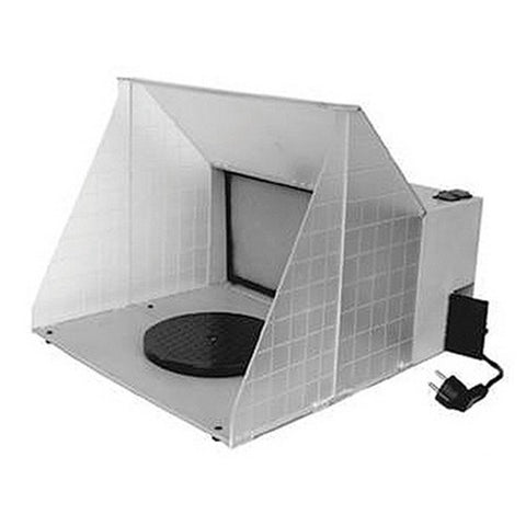 "Paasche Airbrush Company HB1613 Hobby Spray Booth: 16.5""W x 13.5 H x 19"" D"