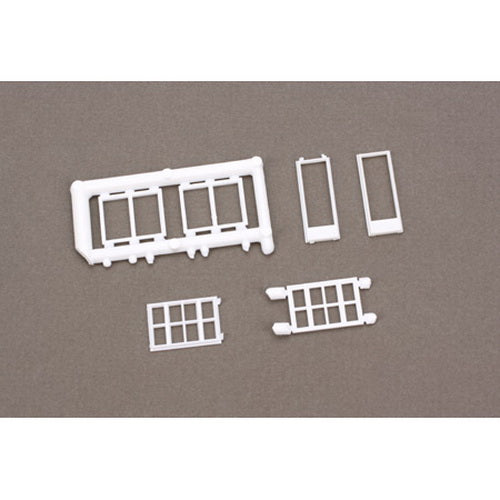 Pikestuff 1201 HO Assorted Windows (Pack of 6)