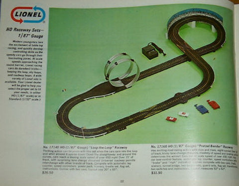 Lionel 17140 Raceway Set With Loop-The-Loop