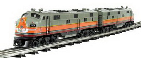 Bachmann 20516 O Milwaukee Road EMD E7 A-A 3-Rail Deisel Locomotive Set