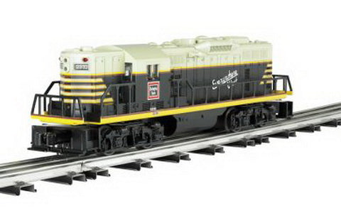 Bachmann 21406 O Chicago, Burlington & Quincy EMD GP9 3-Rail Diesel Locomotive