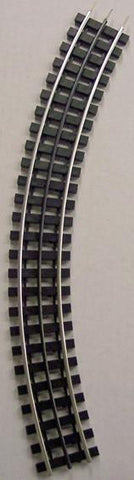 "Gargraves 32-101S O Gauge 3 Rail Phantom Tinplate 32"" Curve Plastic Tie Sectional Track"