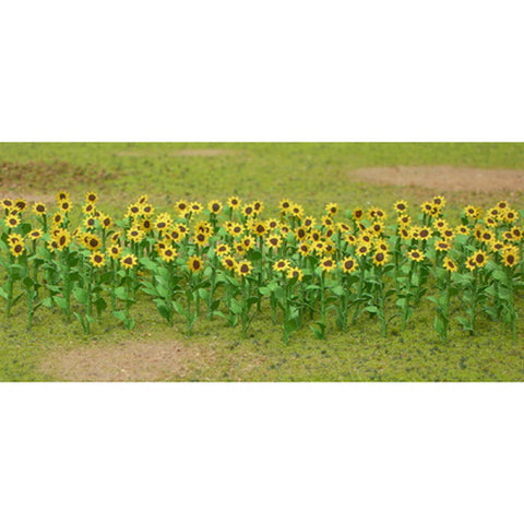 "JTT Scenery Products 95523 1"" Sunflowers, (Pack of 16)"