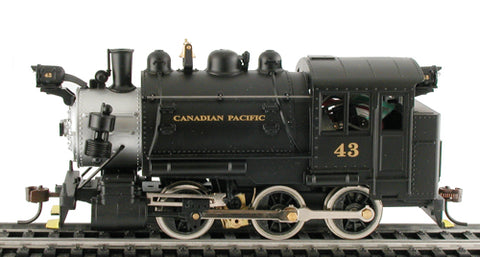 Mantua 393007 HO Canadian Pacific 0-6-0T Powered Switcher #55