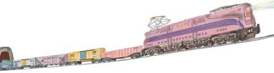 Williams 00303 O Girl's GG-1 Freight Train Set