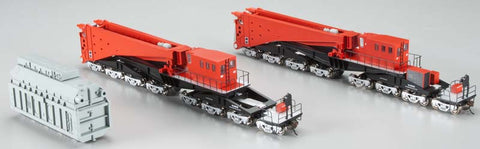 Bachmann 80503 Spectrum 380-Ton Schnabel Caar Red/Black