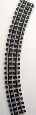 Gargraves 54-202S O Gauge 3 Rail Regular Stainless 54 Curve Plastic Tie Sectional Track