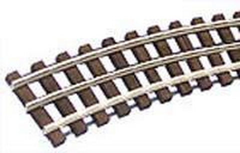 "Gargraves WT-MU-201-72 O Gauge 3 Rail Tinplate 72"" Makeup Curve Wood Tie Sectional Track"