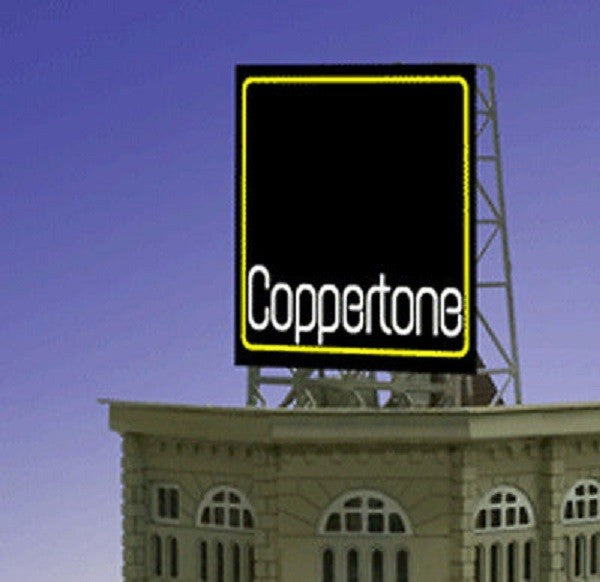 Miller Engineering 338830 N/Z Coppertone Animated Rooftop Billboard Small