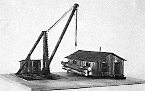 Suncoast Models 3050 HO Logging camp