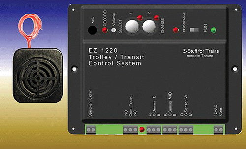 Z-Stuff DZ-1220 Trolley Stop & Controller Announcement System