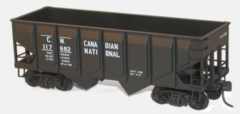 Accurail 28111 HO CN 55-Ton Panel Side Twin Hopper Car Kit