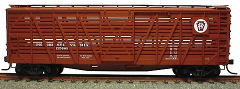 Accurail 47221 HO PRR 40' Wood Stock Car Kit