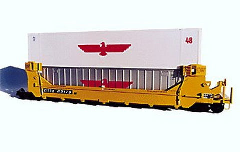 A-Line 25101 HO 40' Ribbed-Side Containers Painted (2) (Silver)